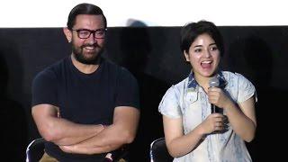 CUTE Girl Who Is Acting In Aamir Khan