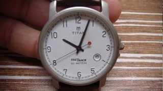 Titan FasTrack quartz watch