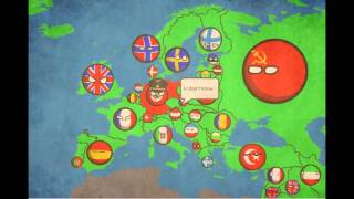 PAST OF EUROPE IN COUNTRYBALLS ! 1891- 1991