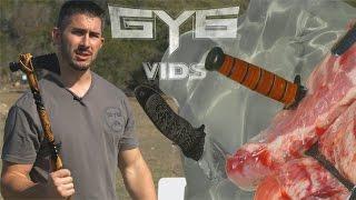 Will It Kill You? THROWING Knives & Tomahawks vs. GEL/RIBS [GY6 Ballistic Test #30]