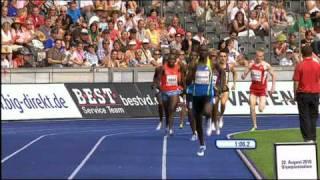 David Rudisha 1:41.09 World Record in Berlin - HQ