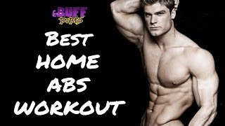 Best Home Ab Workout - 5 Easy Abs Exercises