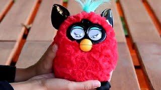 Furby Irokez Hot / Czerwony Furby z Irokezem -  Hasbro - A0002 A3150 - Recenzja