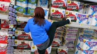 Messing Around in Walmart!