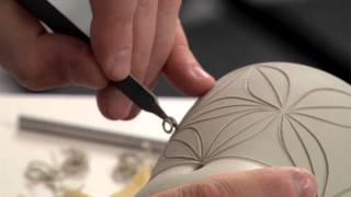 Pottery Video: Carving with Care - How to Carve Exquisite Patterns on a Mug | ADAM FIELD