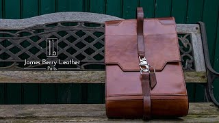 Vegtan Leather backpack design and build revisited!