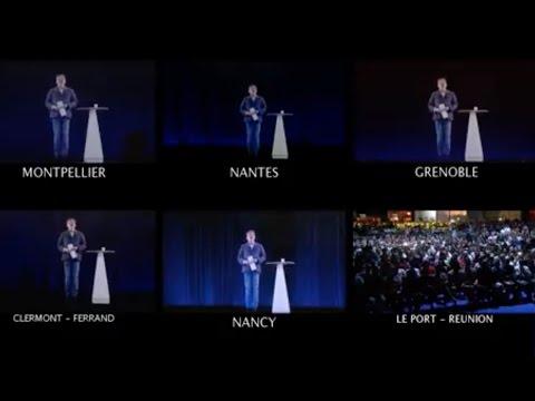 MÉLENCHON : MULTI-MEETING EN HOLOGRAMME - #LaForceDuPeuple