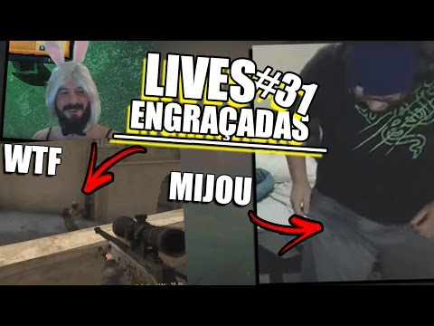 VULTO NO CS, BOXBOX BRASILEIRO & GORDOX SE MIJANDO | LIVES ENGRAÇADAS #31