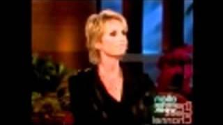 WATCH Jane Lynch (Sue) on Ellen 9 15 10 (Part 1)