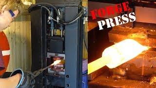 Building Forge Press for Blacksmithing PT. 2 finished!!