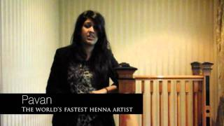 Bridal Competition: Win Bridal Henna With Pavan, The Worlds Fastest Bridal Henna Artist