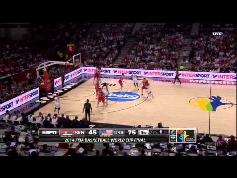 watch USA vs. Serbia highlights - 9-14-14 World Cup Final FIBA 2014