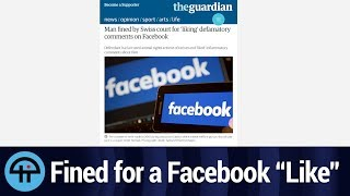Fined For Liking a Facebook Comment