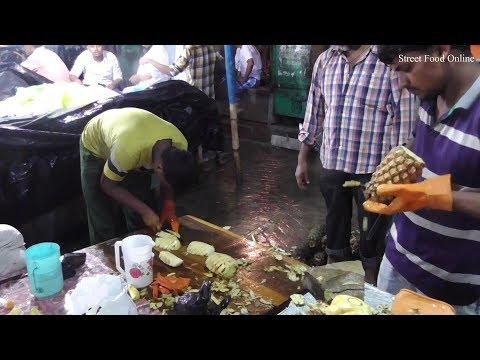 Xxx Mp4 Healthy Pineapple Slicing In Kolkata Street Street Food Online 3gp Sex