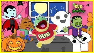 Five little monkeys Nursery Rhyme and Halloween songs