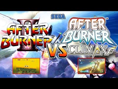 Afterburner 2 Vs Afterburner Climax in 60 fps