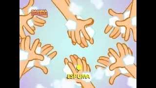 Lava a mão -  DVD Galinha Pintadinha 3 Canção Infantil