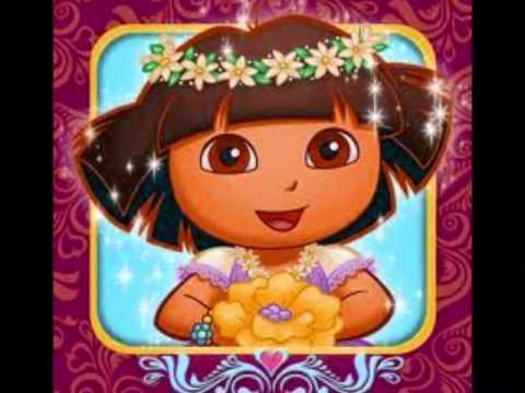 DORA EXPLORADORA FELIZ CUMPLEAÑOS HAPPY BIRTHDAY ingles y español