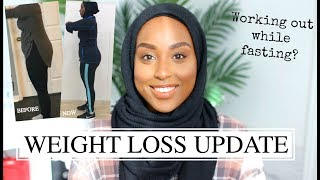 WEIGHT LOSS UPDATE - I LOST OVER 20LBS! | #TheRamadanDaily | Aysha Abdul