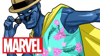 He Can See Your Thoughts! | Marvel Make Me A Hero