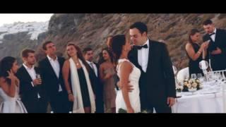 Helder & Joana Wedding Clip In Santorini