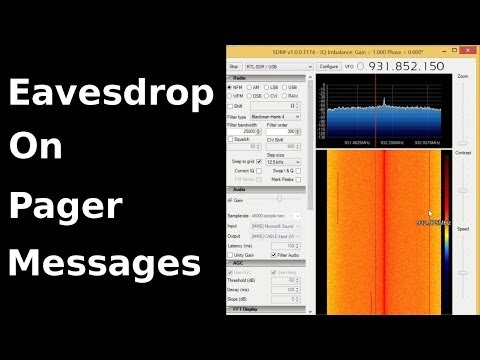 Fast Hacks 20 Eavesdrop on Pager Messages with RTL SDR