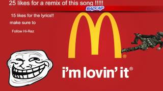 McDonalds Rap!!!!!!!! AVAILABlE TO DOWNLOAD