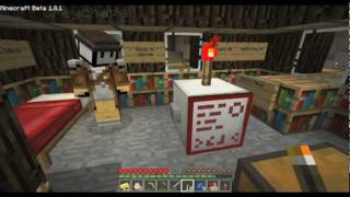 Minecraft SMP Village Madness Part #32: The Mutual Button
