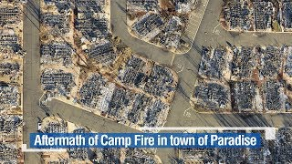 Live: Aftermath of Camp Fire in town of Paradise 直击灾后美国加州天堂镇
