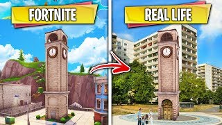 Top 5 Fortnite Locations THAT EXIST IN REAL LIFE!
