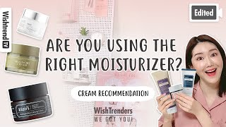 [Edited] How to Choose the Best Moisturizer for Oily Acne-Prone, Combination and Dry Skin