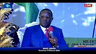 Ebonyi State Governor Holds Democracy Day Executive Media Chat Pt.1
