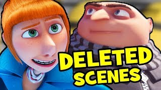 Despicable Me 3 DELETED SCENES & Rejected Concepts