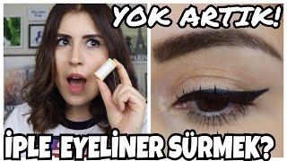 İple Eyeliner Nasıl Sürülür?