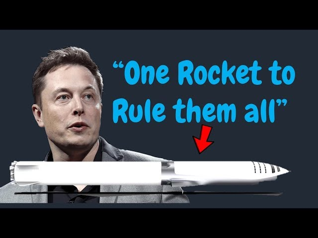 BFR: Elon's 2017 Mars Plan Explained!