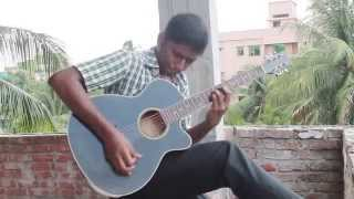 Matir Pinjira acoustic guitar cover by ASHIK