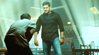 Mahesh Babu Fight Scene With Police @ Bar - Bussiness Man Tamil Movie Scene
