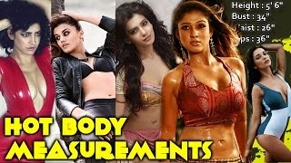 Actress Hot Body Measurements | Which One Is For You? | Tamanna Bhatia, Kajal Agarwal | South Indian