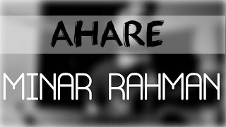 Ahare - Minar | Acoustic cover (+Ukulele)