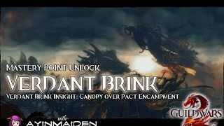★ Guild Wars 2 ★ - Verdant Brink insight: Canopy Over Pact Encampment