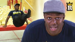 KSI vs Trampoline: The Olympic Routine | Rule'm Sports
