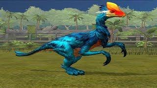 Jurassic World Game Mobile #36: Khủng long móng tay dài nhất thế giới Therizinosaurus