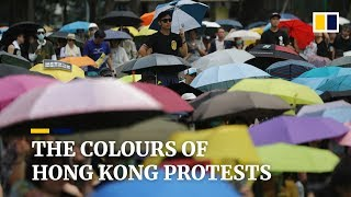 The colours of Hong Kong protests