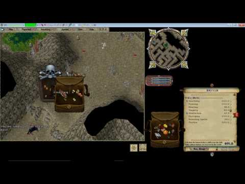 Lets Play Ultima Online Forever! Episode 2  Dungeon run and GANKING