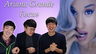 Korean Guys React to Ariana Grande - Focus