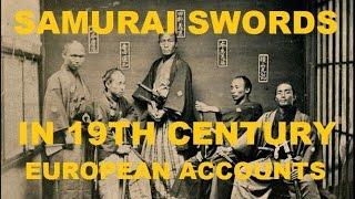 Katana vs Sabre: More European accounts of Japanese swords and sword fighting