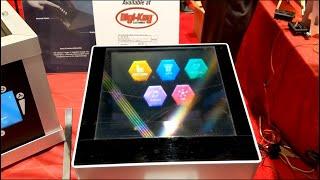 Neonode demos holographic human-machine interface at Sensors Expo 2019
