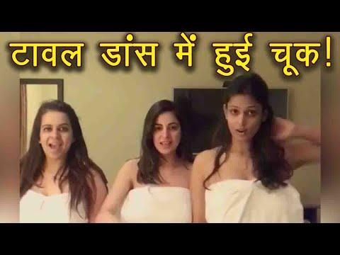 Kundali Bhagya Actress Shraddha Arya's TOWEL dance goes WRONG! Watch video   FilmiBeat