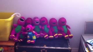 Talking Barney copies 1992/1993/1994/1995/1996 Version