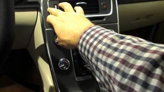 Volvo S60 iç mekan incelemesi.